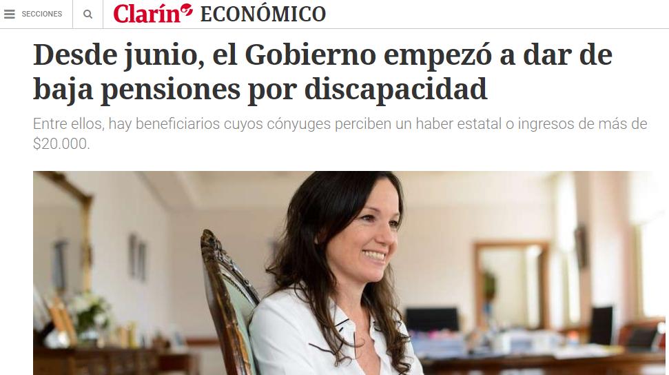 Clarin pensiones discapacidad