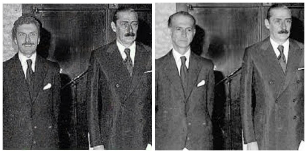 Es falsa la foto de Mauricio Macri junto al dictador Jorge Videla