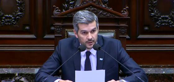 """Peña: """"La Argentina salió de la recesión"""""""