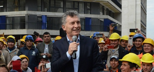 """Macri: """"Cada tres minutos una familia recibe un crédito hipotecario a 30 años del Banco Nación"""""""