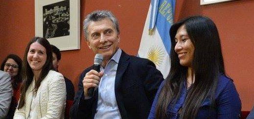 """Macri: """"Está aumentando el nivel del poder adquisitivo mes a mes"""""""