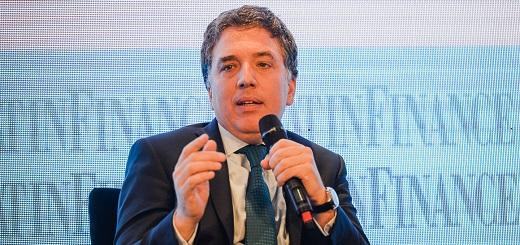 """Dujovne: """"La inversión en la Argentina estuvo estancada"""""""