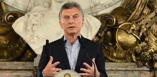 "Macri: ""Se exporta menos carne que pesca"""