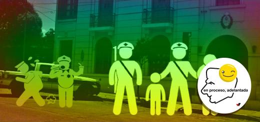 """Macri: """"[Vamos a] profesionalizar a las fuerzas policiales"""""""