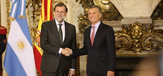 """Rajoy: """"El año pasado el comercio bilateral se incrementó un 20% respecto del año anterior"""""""