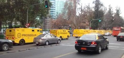 #FalsoEnLasRedes: las fotos de camiones de caudales no son actuales