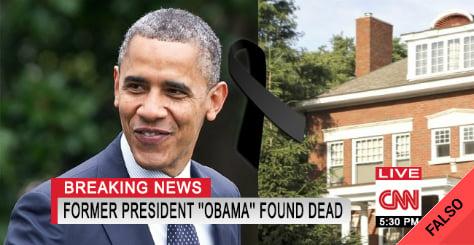 Es falso que Barack Obama fue asesinado por un francotirador