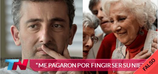 """Es falso que Ignacio Montoya Carlotto dijo que le """"pagaron por participar en el fraude"""" para ser nieto de Estela"""