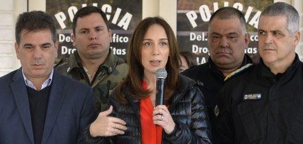 """Vidal: """"Tenemos más detenidos por narcotráfico en los últimos dos años que en toda la gestión del gobierno de Scioli"""""""