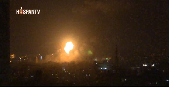 """HispanTV: """"Nuevos ataques israelíes a Gaza dejan un muerto y ocho heridos"""""""