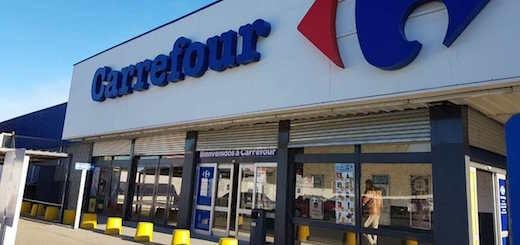 Es verdadero el video del saqueo a una sucursal de Carrefour de Comodoro Rivadavia