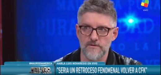 Es verdadero que Novaresio dijo que le preocupa que, si CFK vuelve al poder, no pueda seguir ejerciendo su profesión