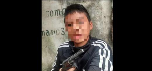 No, la foto del joven armado no es del adolescente que fue asesinado en Chaco
