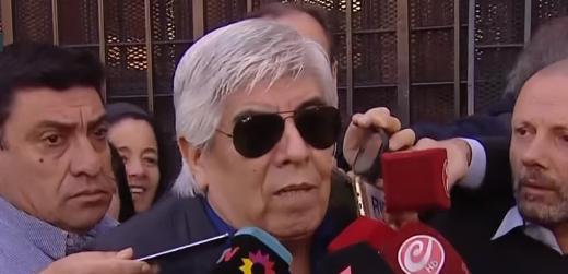 """Es verdadero que Hugo Moyano dijo: """"A Macri lo manejan"""""""