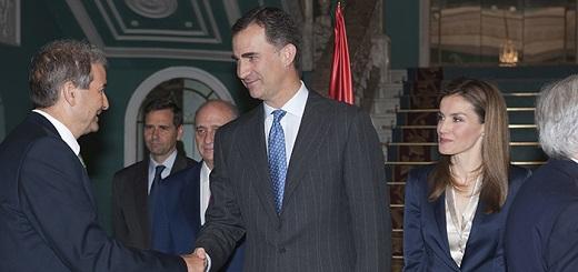 """Es falso que el rey de España haya dicho que """"Latinoamérica debe pedir perdón por masacrar a miles de conquistadores españoles inocentes"""""""