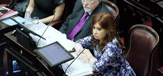 """CFK: """"Argentina es el quinto país en formación de activos externos"""""""