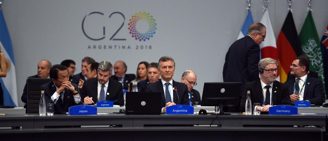 Por primera vez la Cumbre de Líderes del G20 se realiza en Sudamérica