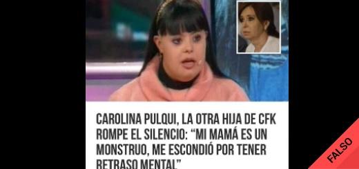 """Es falsa la imagen de una supuesta hija de CFK no reconocida """"por tener retraso mental"""": es una docente cordobesa"""