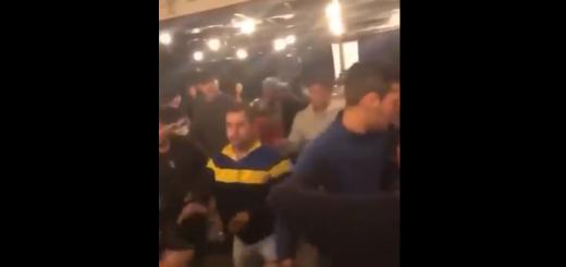 Es falso el video de la pelea de hinchas de Boca y River en Madrid