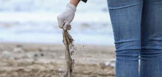Más del 80% de 47 mil residuos encontrados en las playas bonaerenses son plásticos