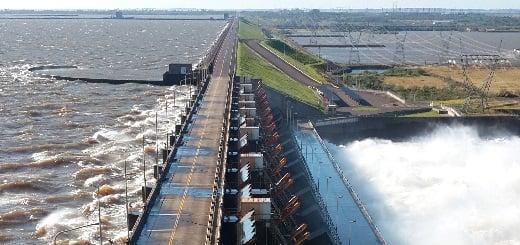 Es falso que la central hidroeléctrica Yacyretá tiene una grieta y que se está rompiendo
