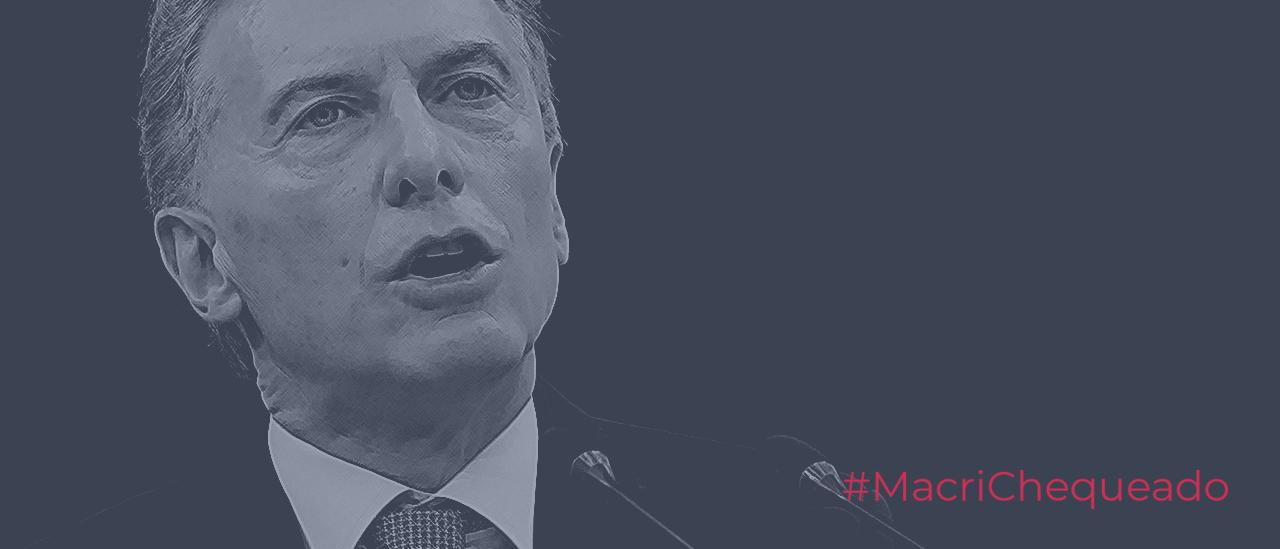 """Macri: """"El Jefe de Gabinete respondió preguntas como nunca antes"""""""