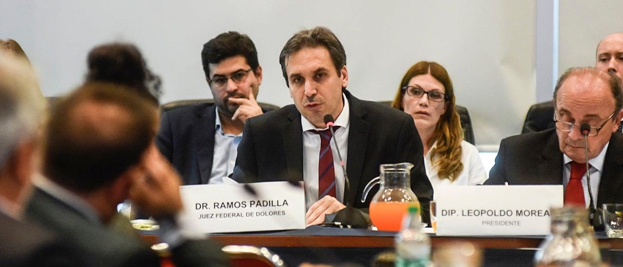 Quién es Alejo Ramos Padilla, el juez que investiga la denuncia contra Marcelo D'Alessio