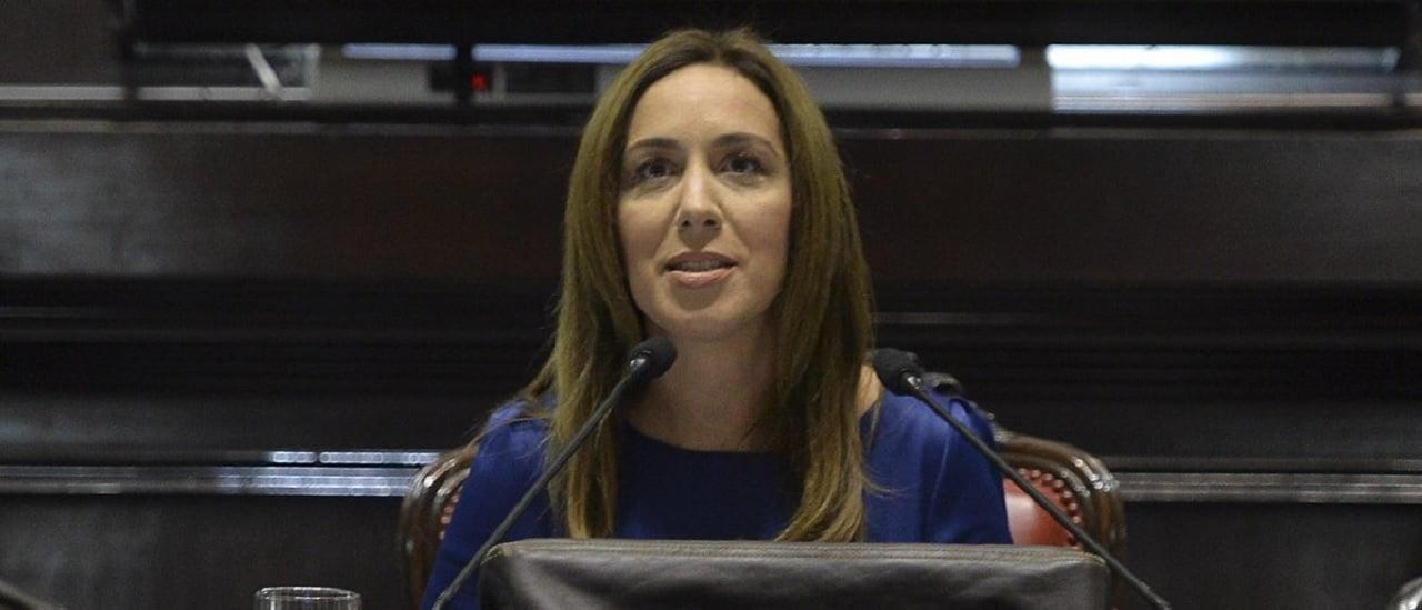 Chequeos a María Eugenia Vidal: obra pública, viandas para comedores, matrícula escolar y detenidos por drogas