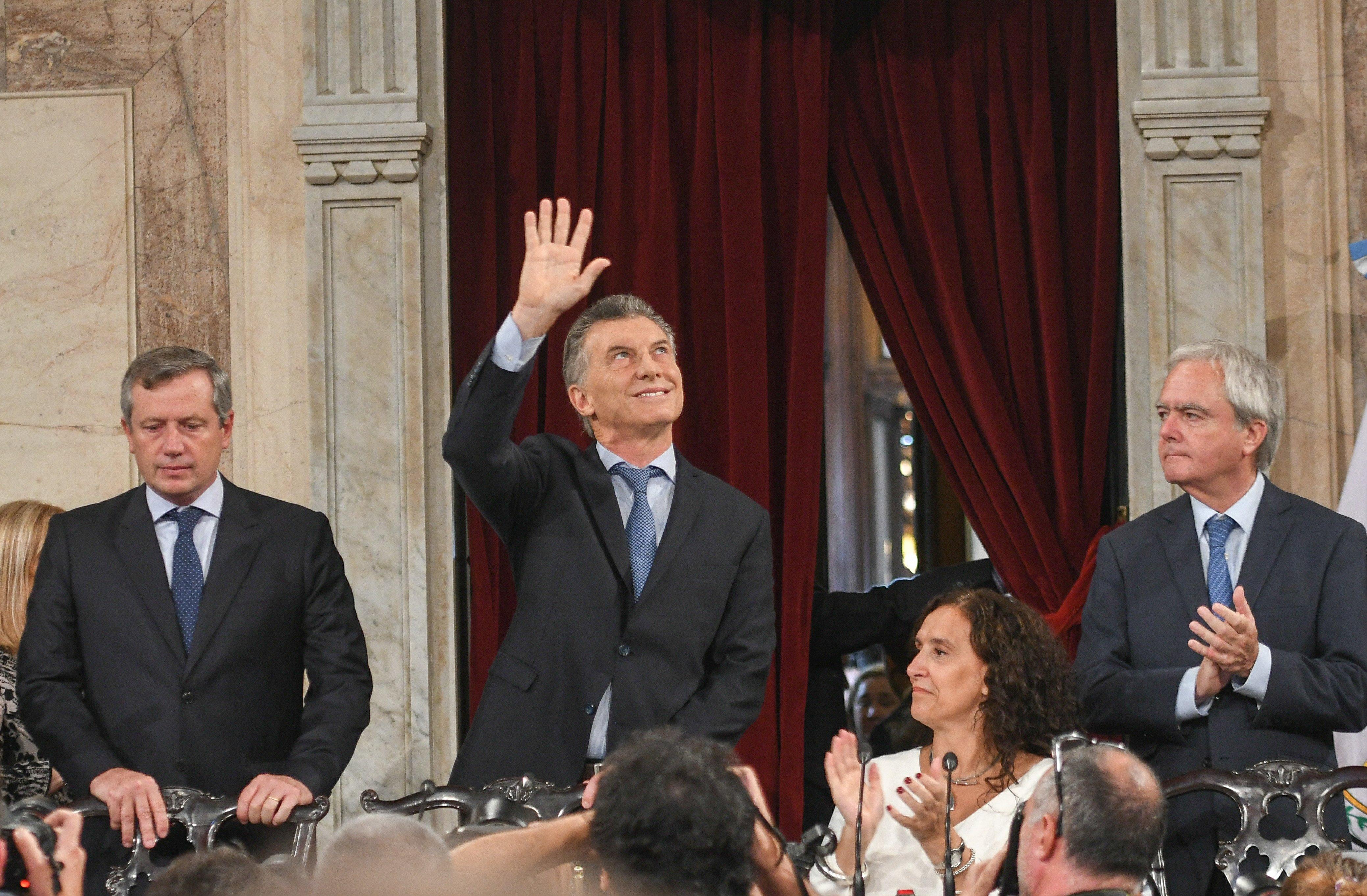 """Macri: """"La desocupación está bajando"""""""