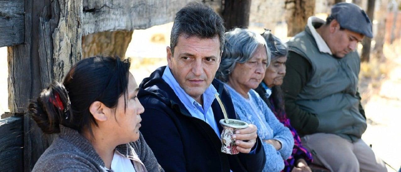 """Massa: """"Hoy los argentinos trabajan 16 días al mes para pagarle al Estado"""""""