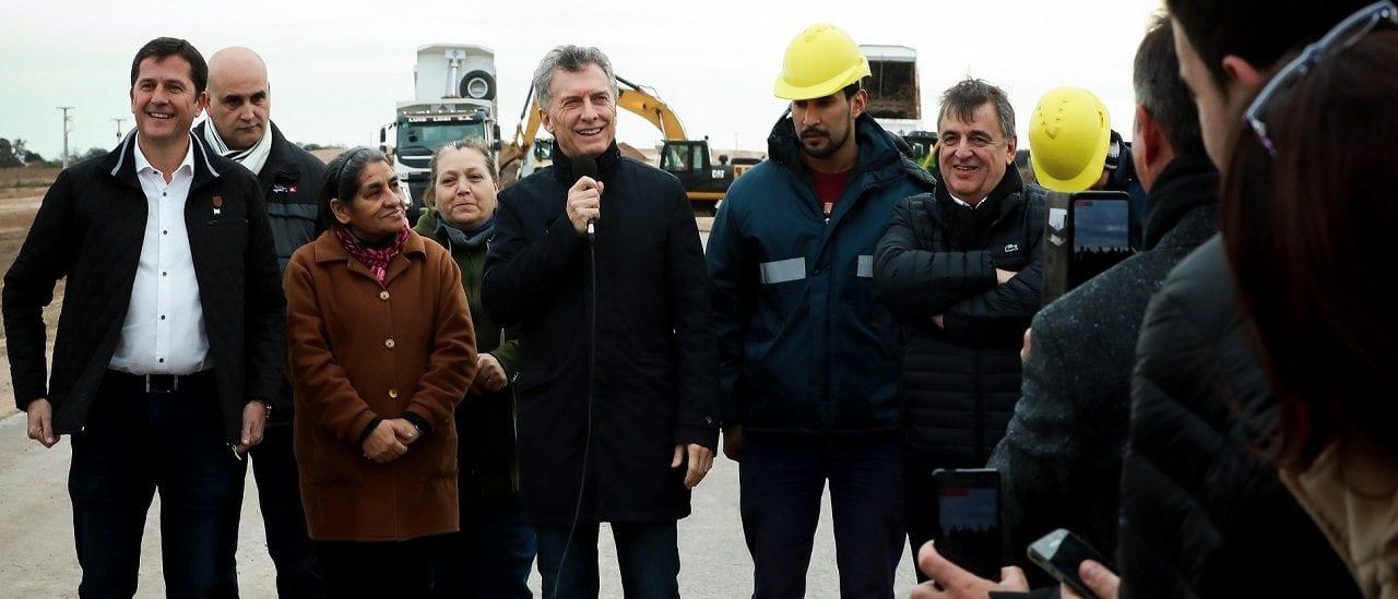 Una advertencia para que Macri se abstenga de inaugurar obras públicas en campaña