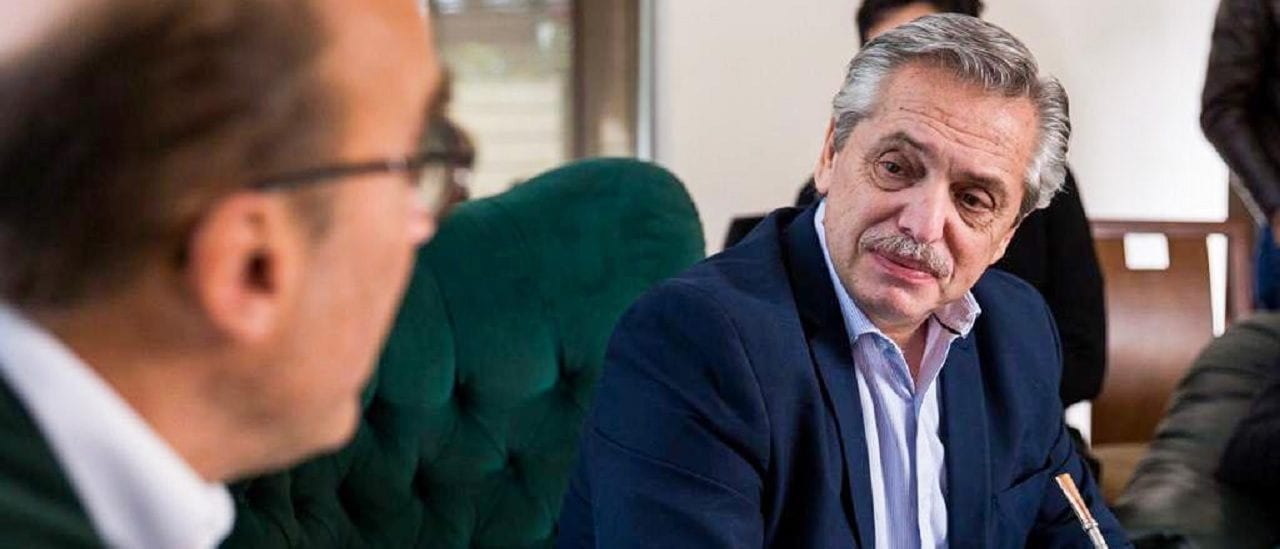 """Alberto Fernández, sobre el salario real: """"Cayó 21% en tres años y medio"""""""