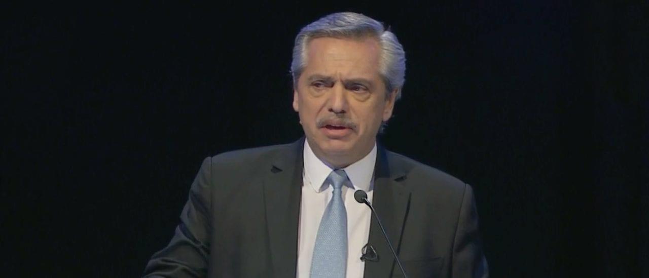 """Fernández: """"La capacidad instalada [en la industria manufacturera] hoy está usada solo en un 60%"""""""