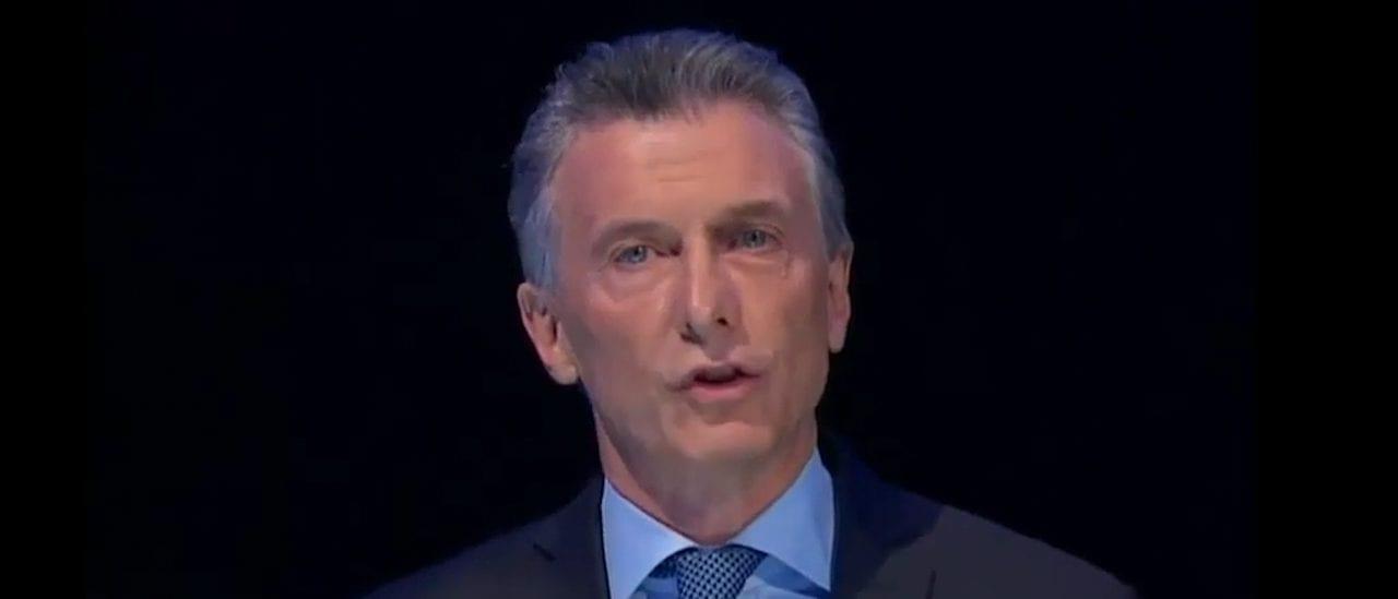 """Macri: """"En nuestro gobierno la deuda creció el 26% del PBI, en el gobierno kirchnerista creció el 38% del PBI"""""""