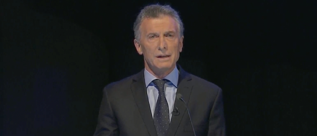 """Macri: """"Cuando Alberto Fernández fue jefe de Gabinete llegamos a importar 20 mil kilos de efedrina por año"""""""