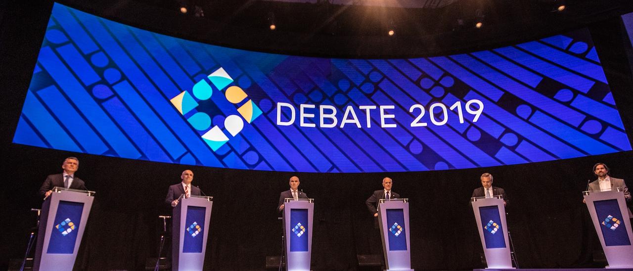 Los chequeos al debate de los 6 candidatos presidenciales