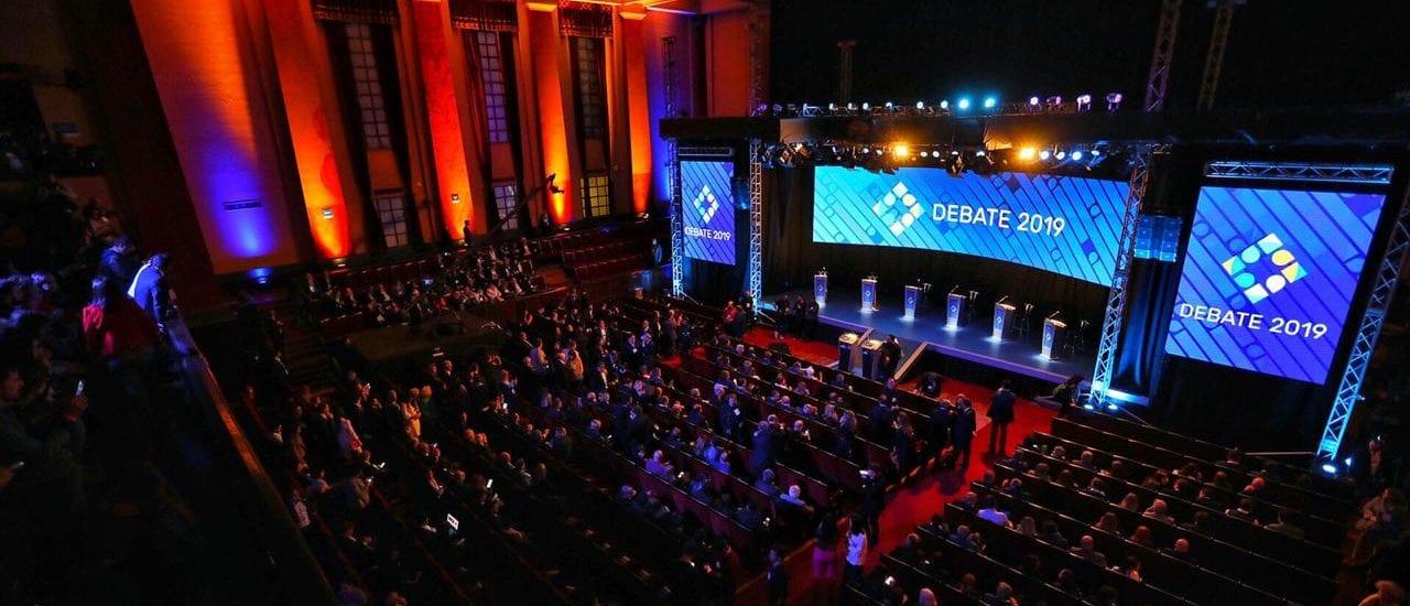 """#DebateEnRedes: el 94% de los tuits sobre el segundo debate presidencial mencionaron a favor o en contra a """"Alberto"""" y el 48%, a """"Macri"""""""