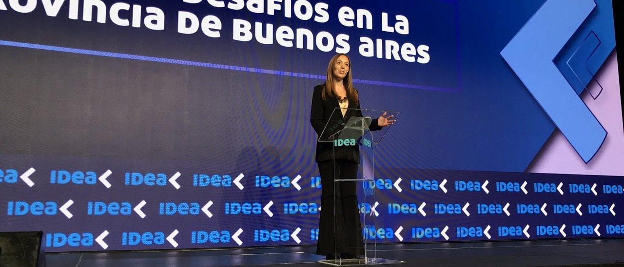 Vidal en IDEA: chequeos sobre homicidios, transparencia, reelecciones y policías