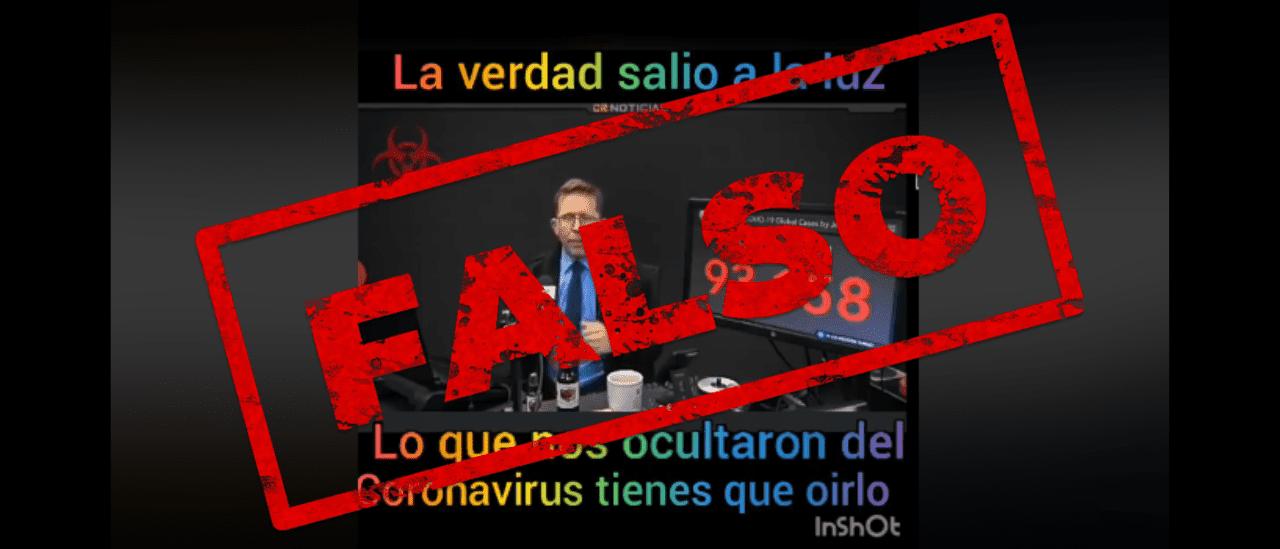 Es falso que el nuevo coronavirus fue creado en un laboratorio de China