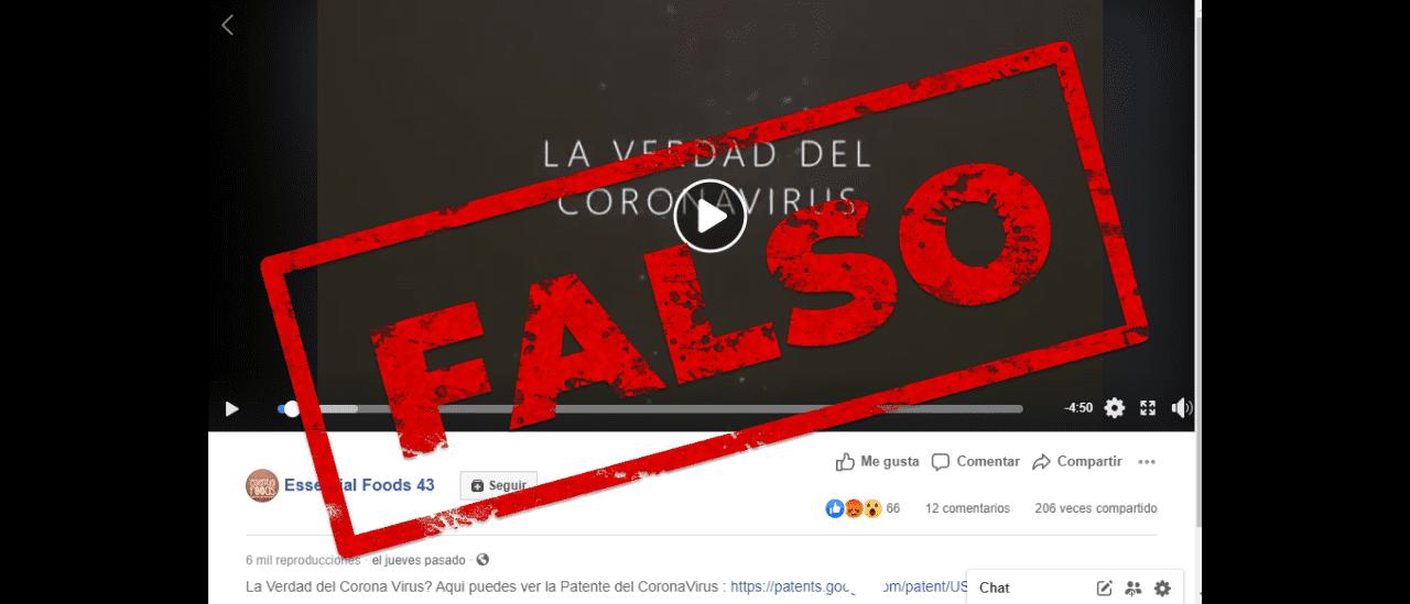 No hay evidencia para afirmar que el Coronavirus actual fue creado en 2014 por un instituto inglés