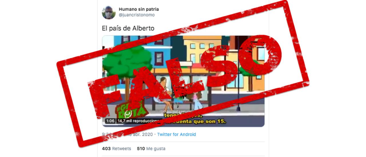 Es falso el video de Gente Rota de una beneficiaria de la AUH con 5 hijos que cobró en abril $110 mil