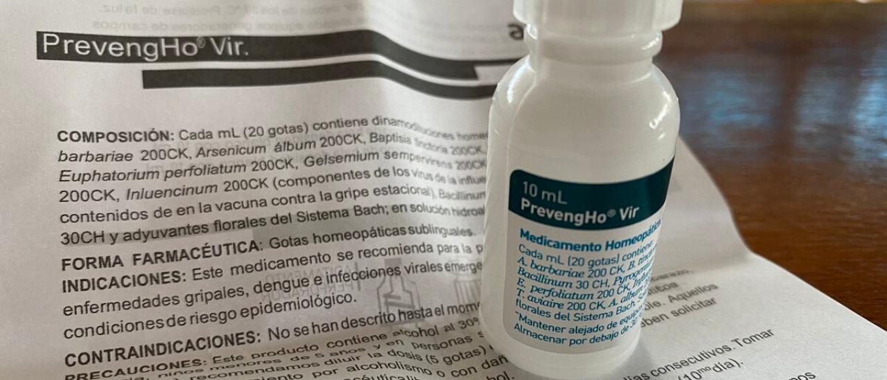 Cuba distribuye un medicamento homeopático para prevenir la COVID-19, pero expertos ponen en duda su eficacia