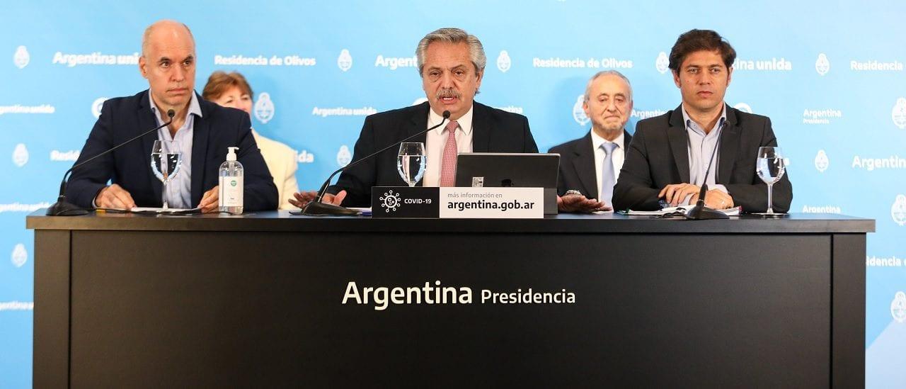 El Presidente anunció que todo el país, salvo el AMBA, pasa a la fase de