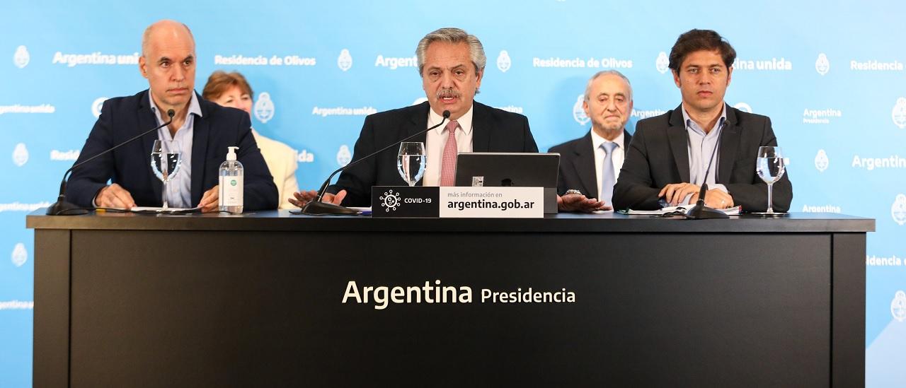 """El Presidente anunció que todo el país, salvo el AMBA, pasa a la fase de """"reapertura progresiva"""" de cuarentena hasta el 24 de mayo"""