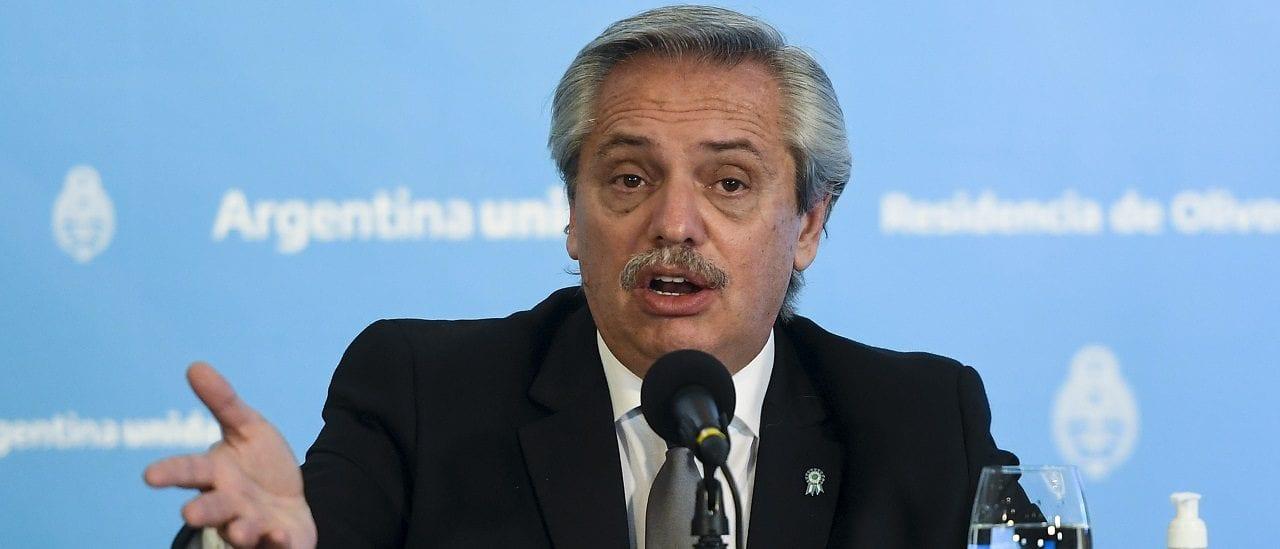 """Alberto Fernández, sobre las medidas del Gobierno: """"Han significado el 2,6% del PBI"""""""