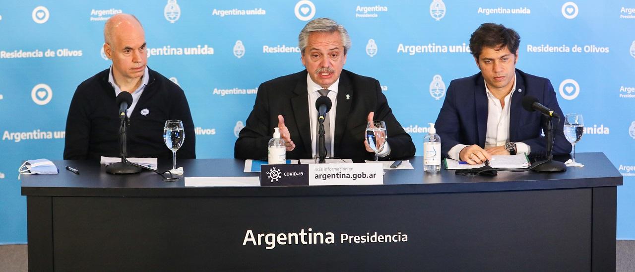 Alberto Fernández anunció que la cuarentena se extiende hasta el 7 de junio y que se endurecerá en el AMBA