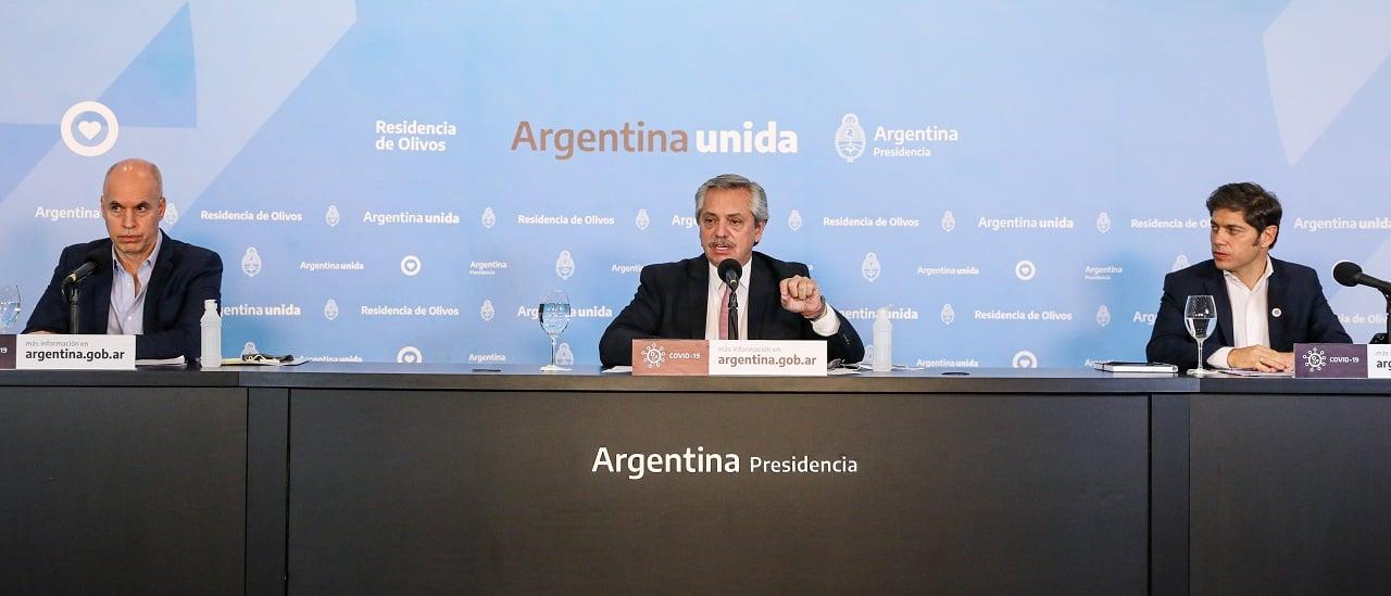 Qué cambios anunciaron Horacio Rodríguez Larreta y Axel Kicillof