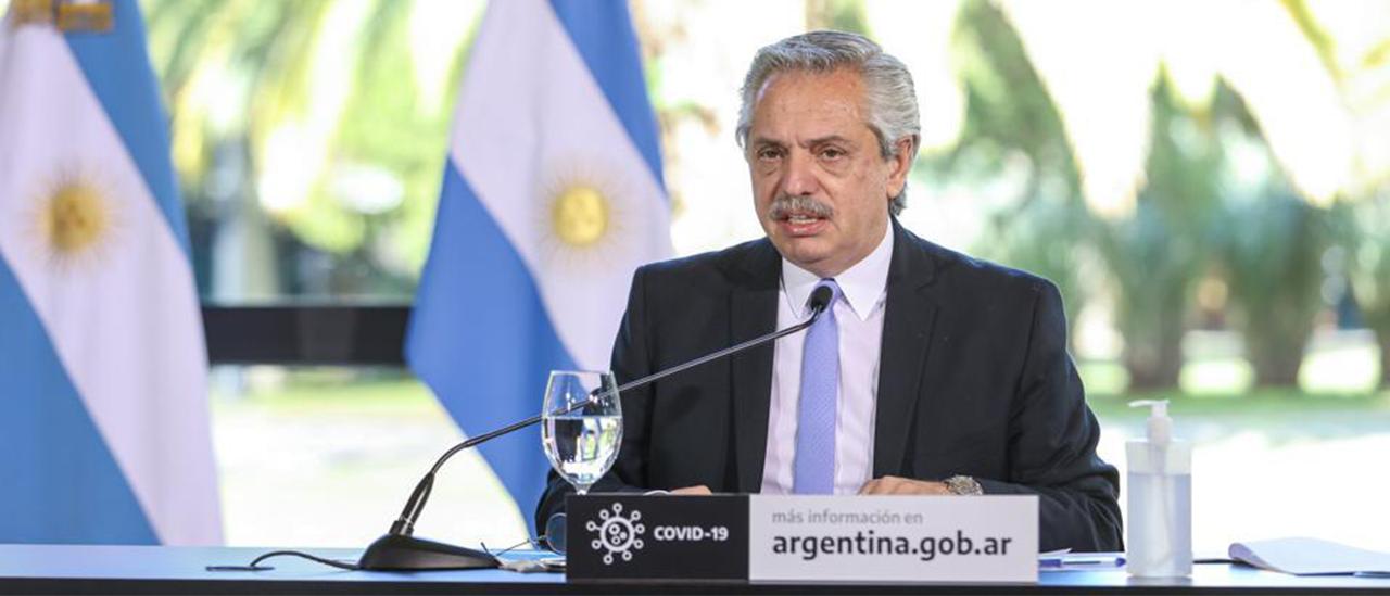 """Alberto Fernández: """"El Estado ha asistido a 21 millones de argentinos de los 45 millones que somos"""""""