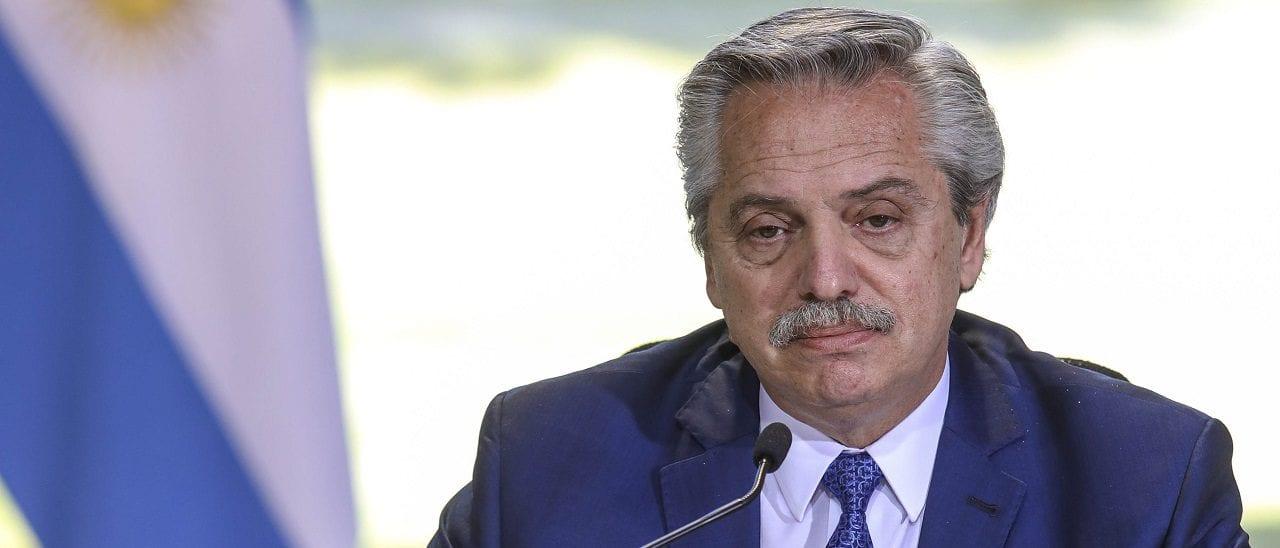 """Alberto Fernández: """"Los jubilados no solamente dejaron de pagar sus medicamentos, sino que además han recibido en lo que va del año un ingreso que está un par de puntos por arriba de la inflación"""""""