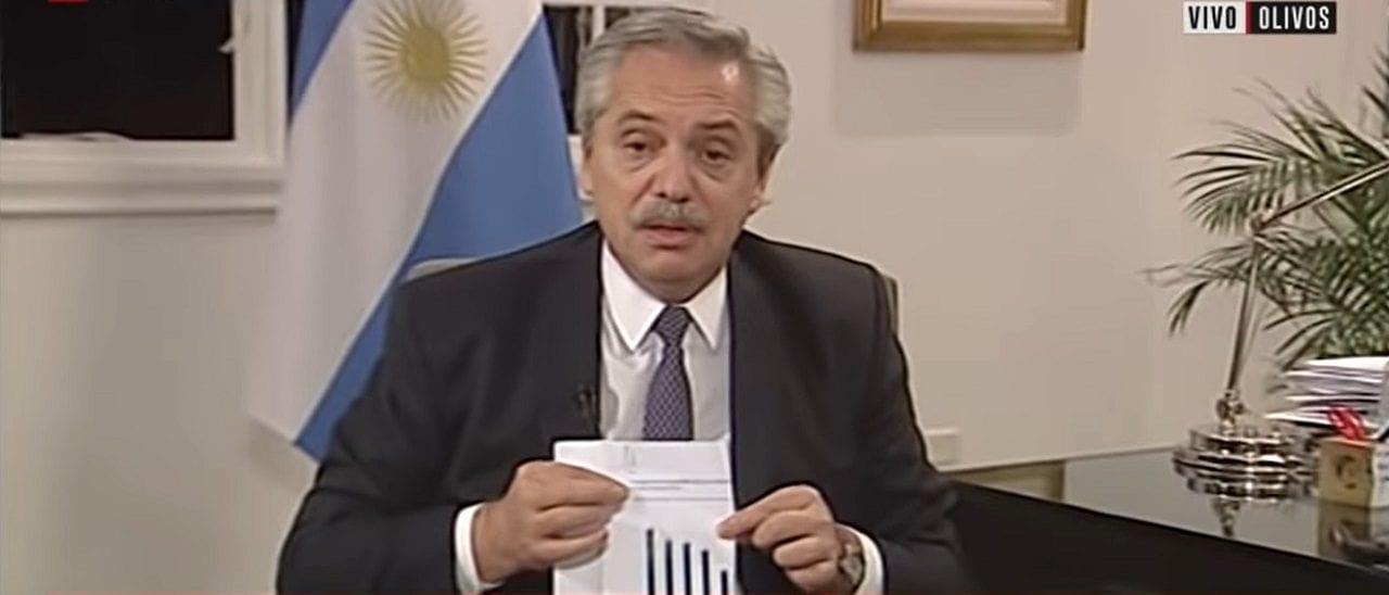 Deuda: por qué es engañosa la forma en la que el Presidente mostró el ahorro por el acuerdo en C5N